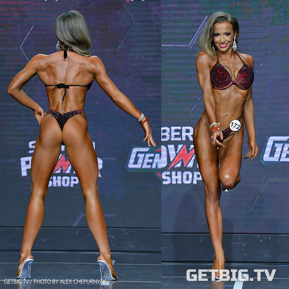 Маргарита Слободенюк - чемпионка России - 2020 (фитнес-бикини, 162 см)