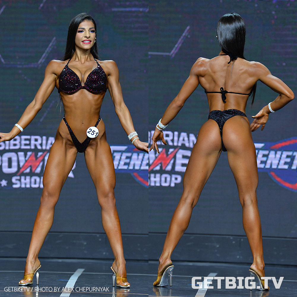 Маргуш Минасян - чемпионка России - 2020 (фитнес-бикини, 160 см)