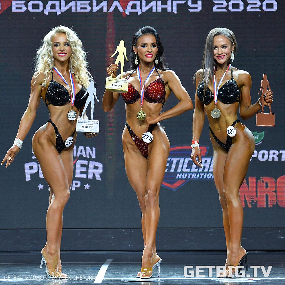 Екатерина Салина - чемпионка России - 2020 (фитнес-бикини, 158 см)