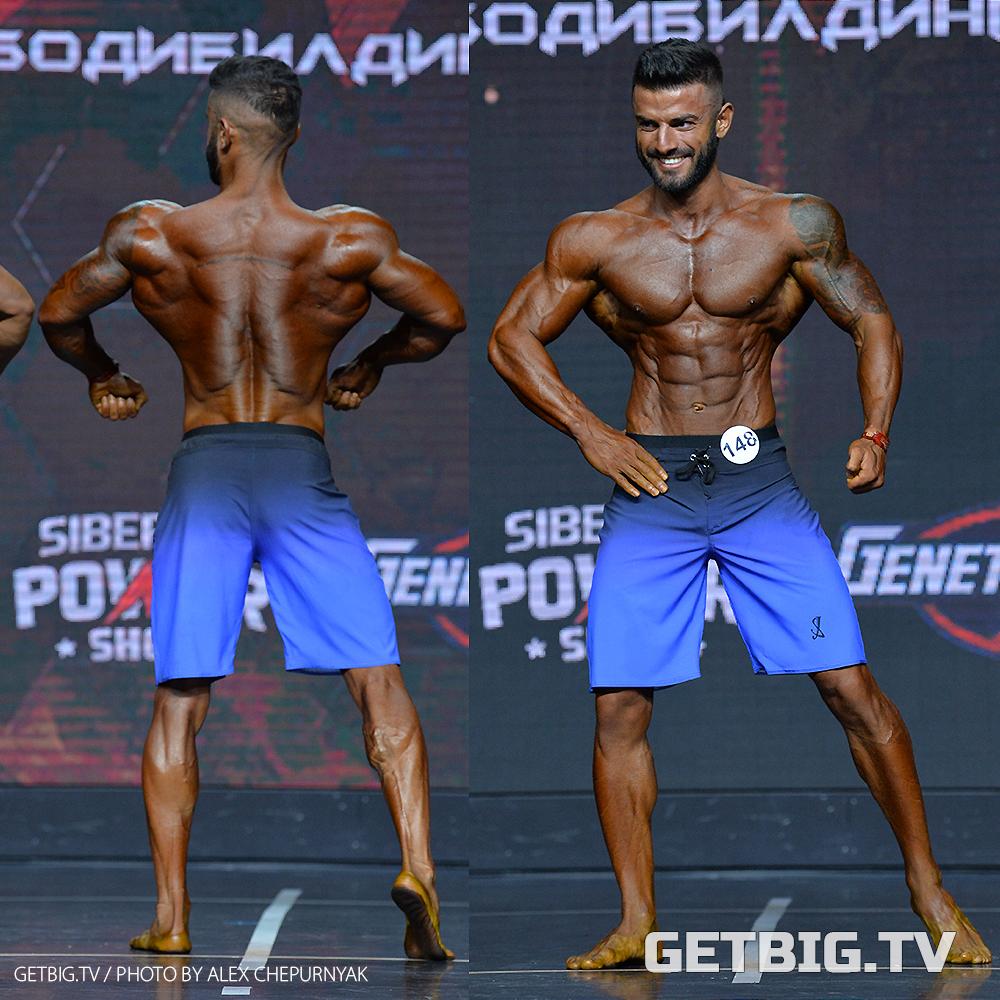 Эмир Сафаров - абсолютный чемпион России - 2020 (пляжный бодибилдинг)
