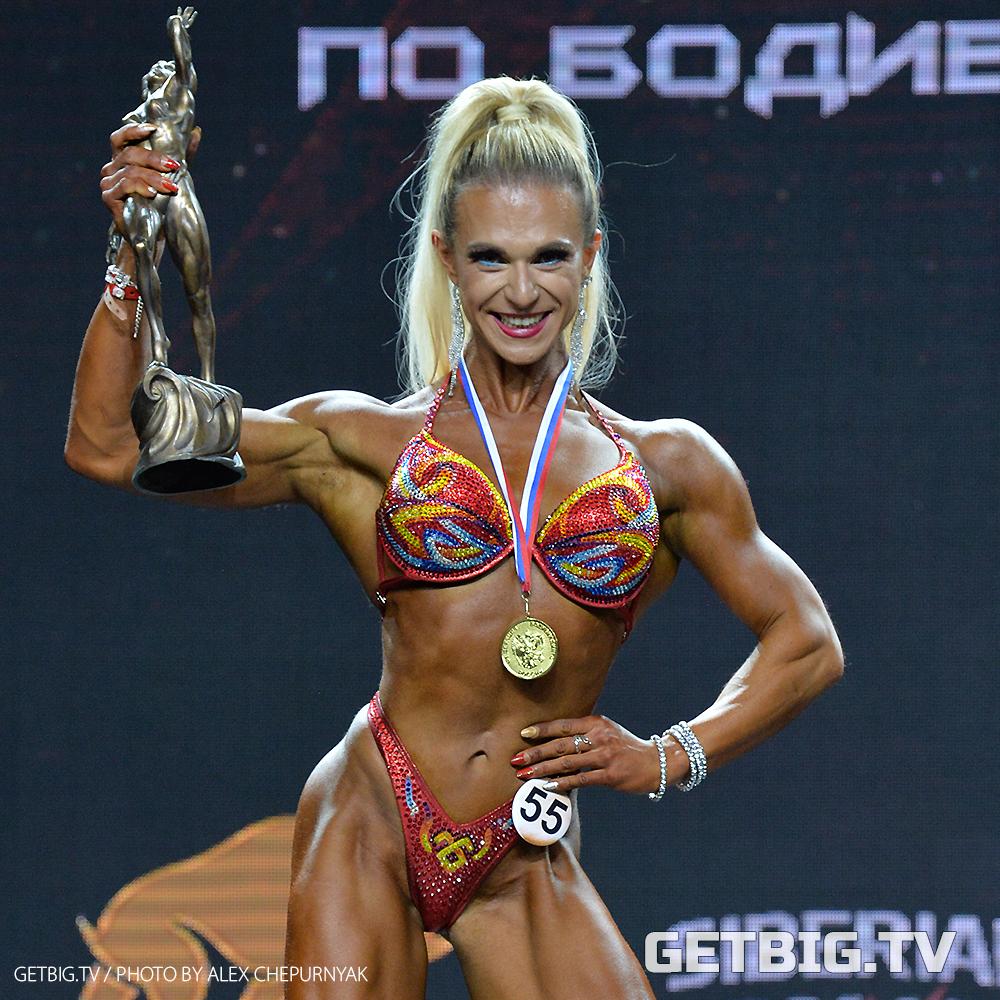 Екатерина Петрова - абсолютная чемпионка России - 2020 (бодифитнес)