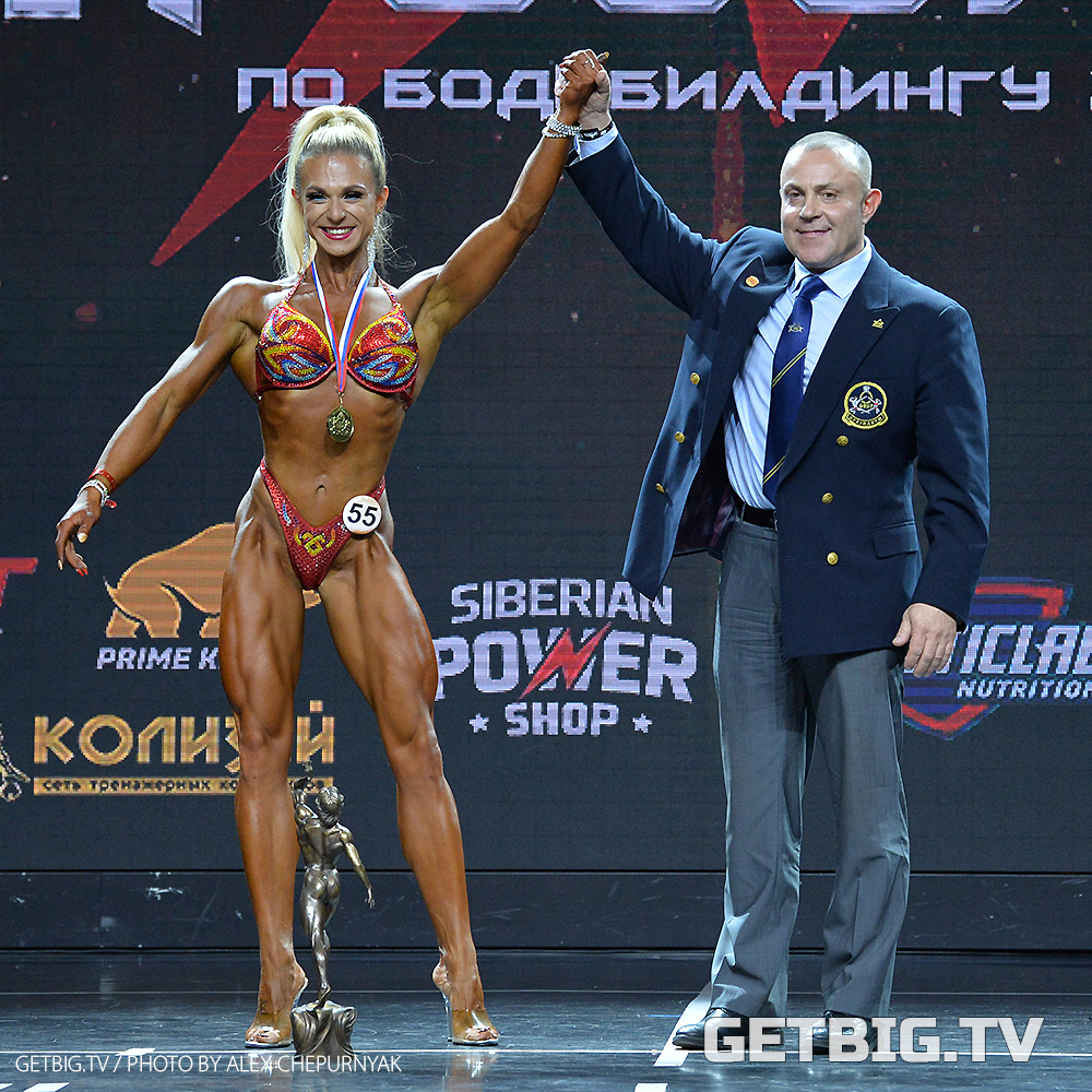 Екатерина Петрова - абсолютная чемпион России - 2020 (бодифитнес)