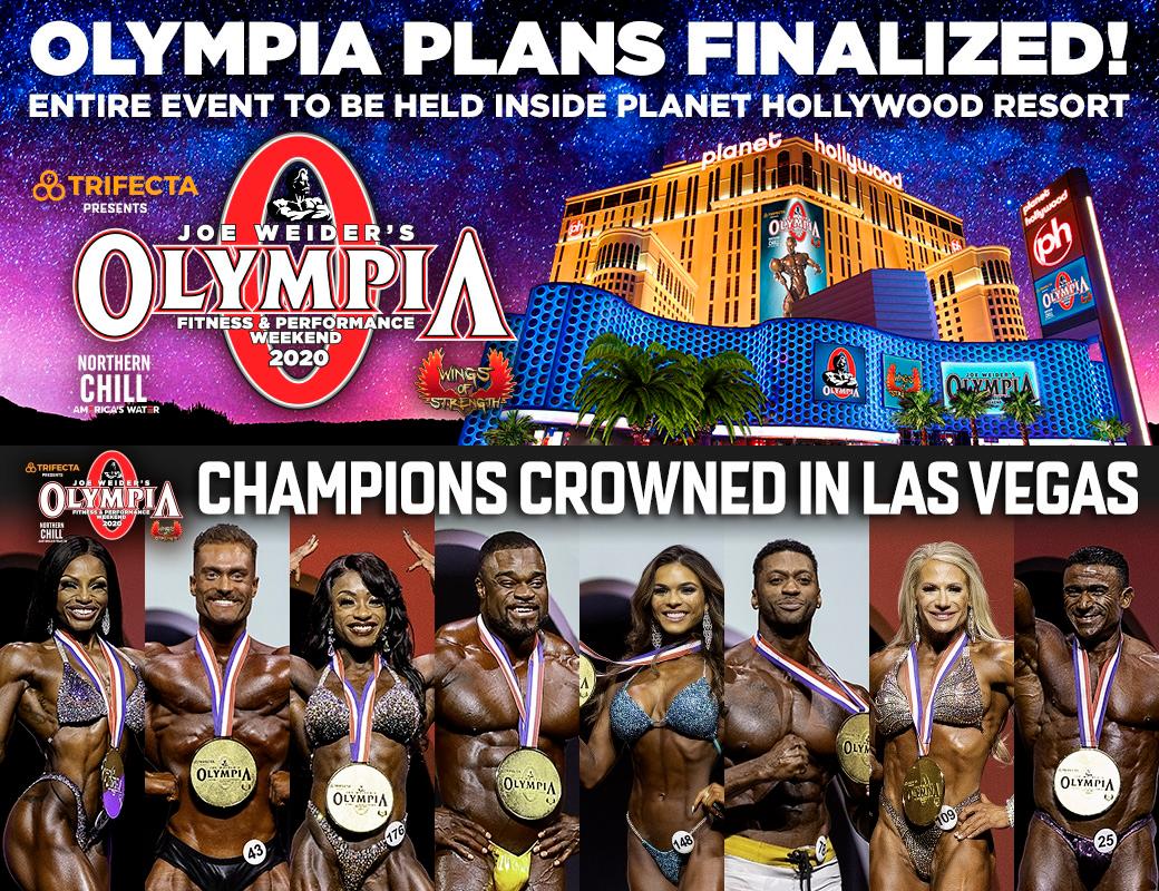 «Олимпия»-2020 под угрозой отмены
