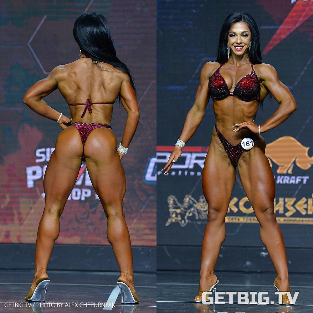 Елена Сандаевская - абсолютная чемпионка России - 2020 (велнес-фитнес)