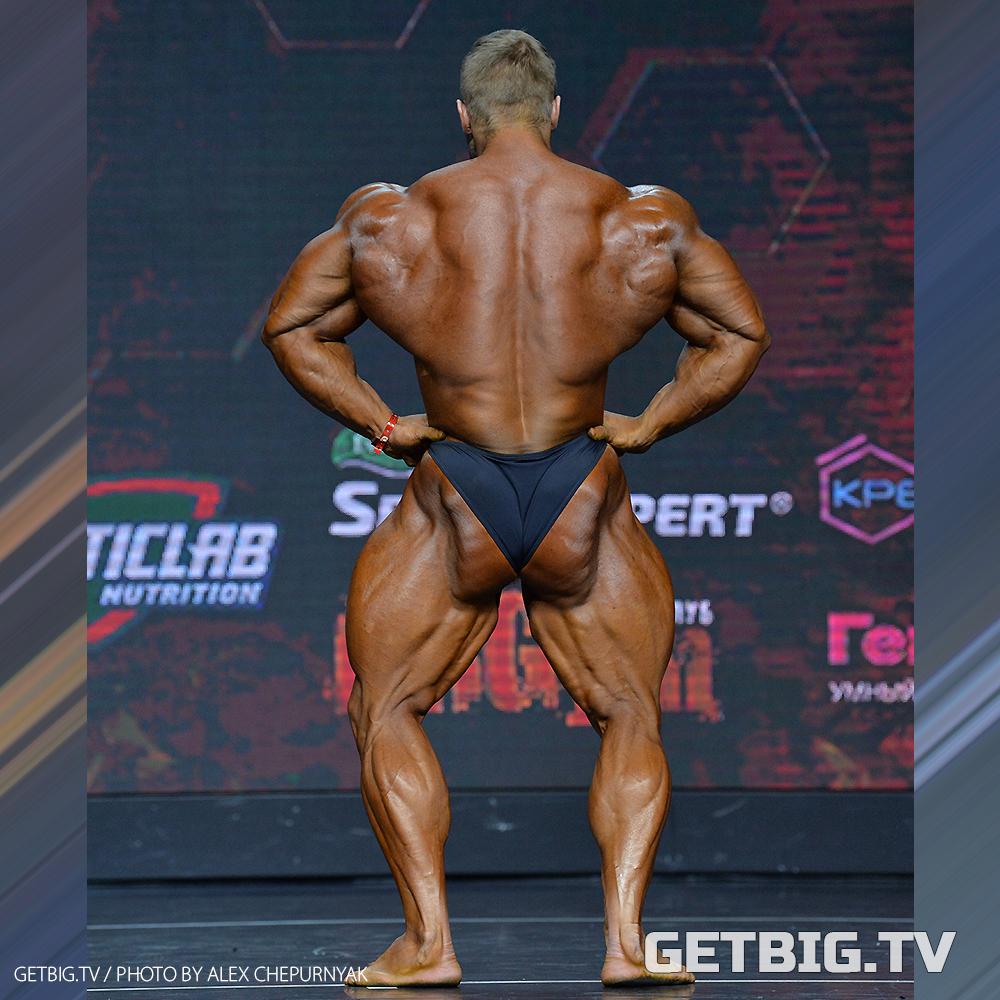 Виталий Угольников - абсолютный чемпион России - 2020 (бодибилдинг)