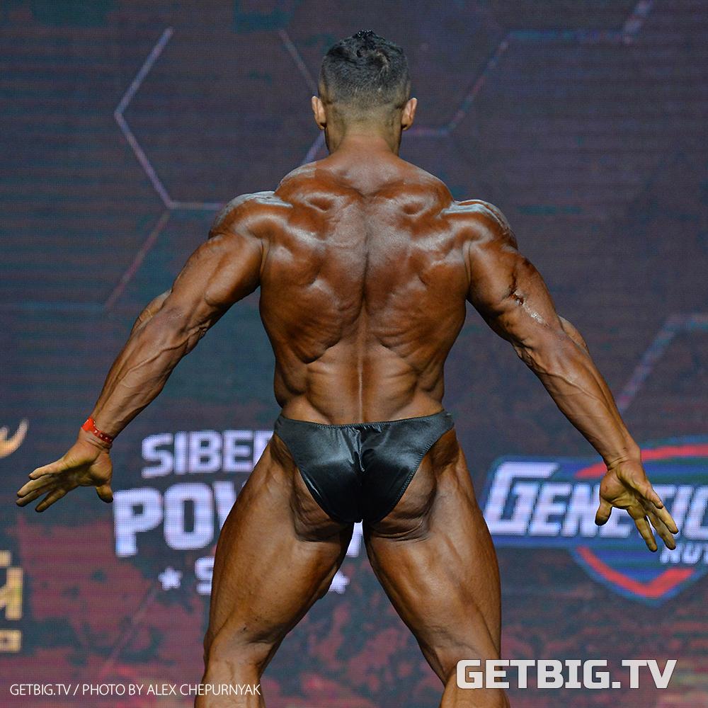 Александр Мартынкин - чемпион России - 2020 (бодибилдинг, 95 кг)