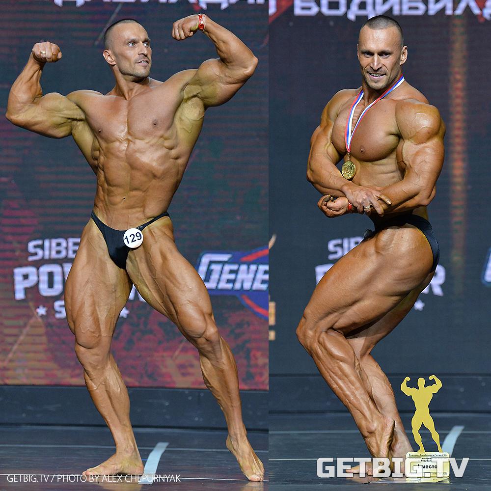 Рубин Гайнуллин - чемпион России - 2020 (бодибилдинг, 90 кг)