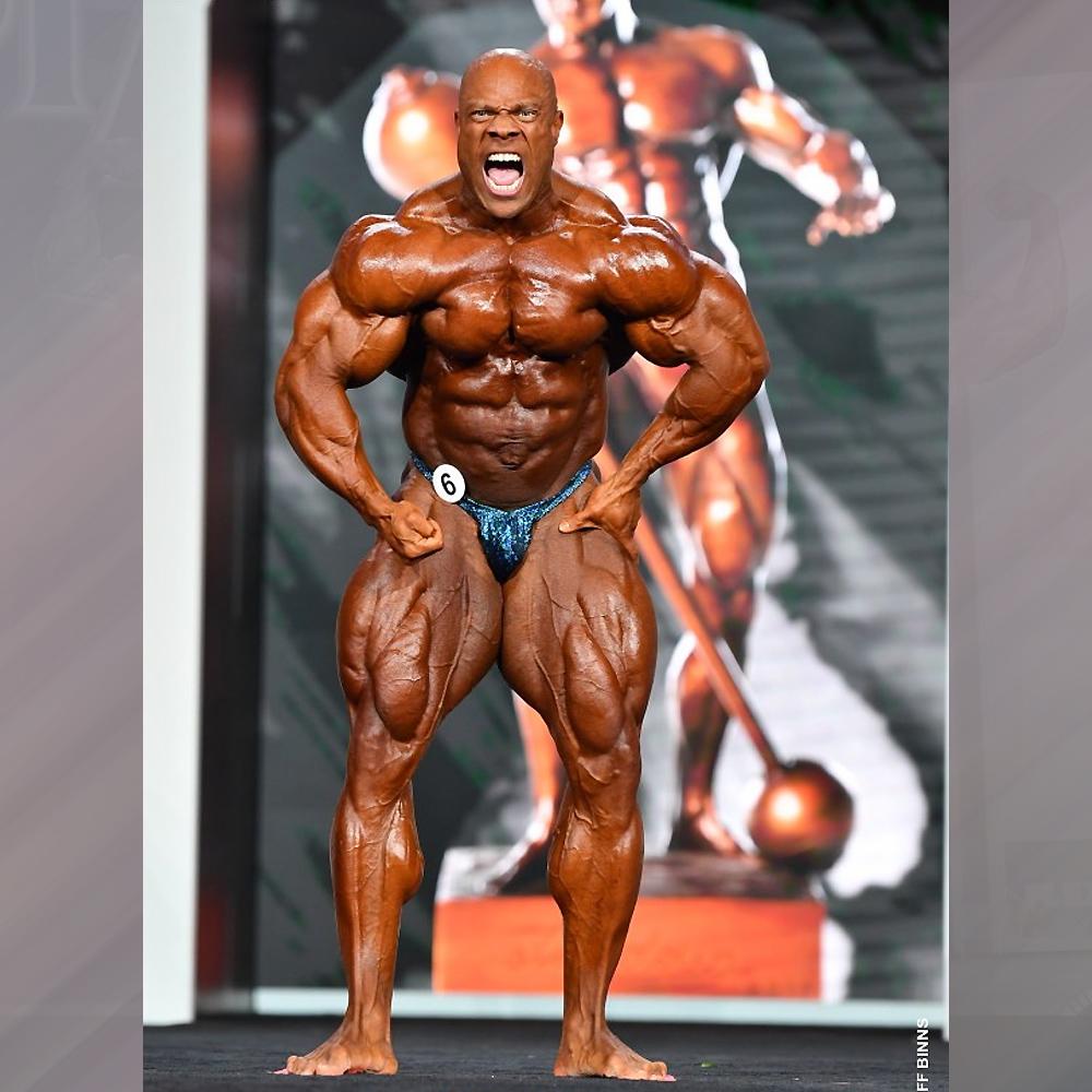 Фил Хит - 3 место на Мистер Олимпия - 2020