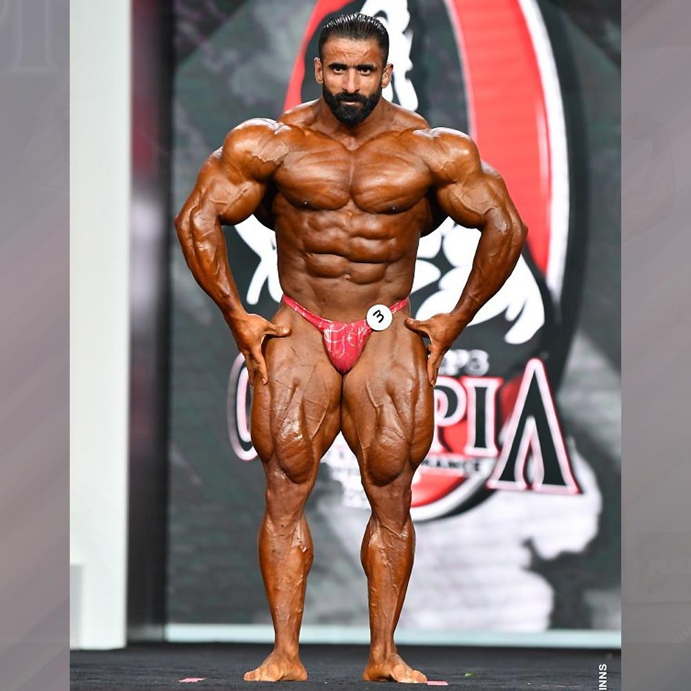 Хади Чупан - 4 место на Мистер Олимпия - 2020