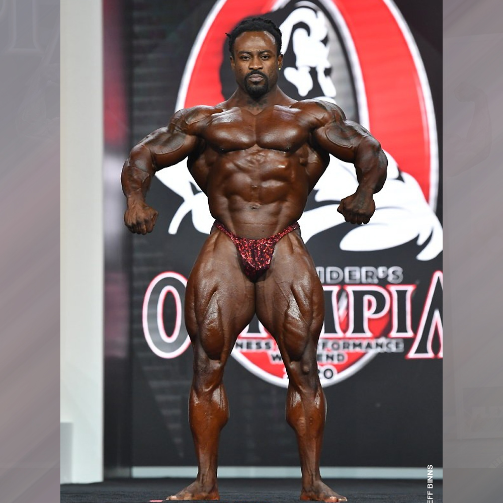 Уильям Бонак - 5 место на Мистер Олимпия - 2020