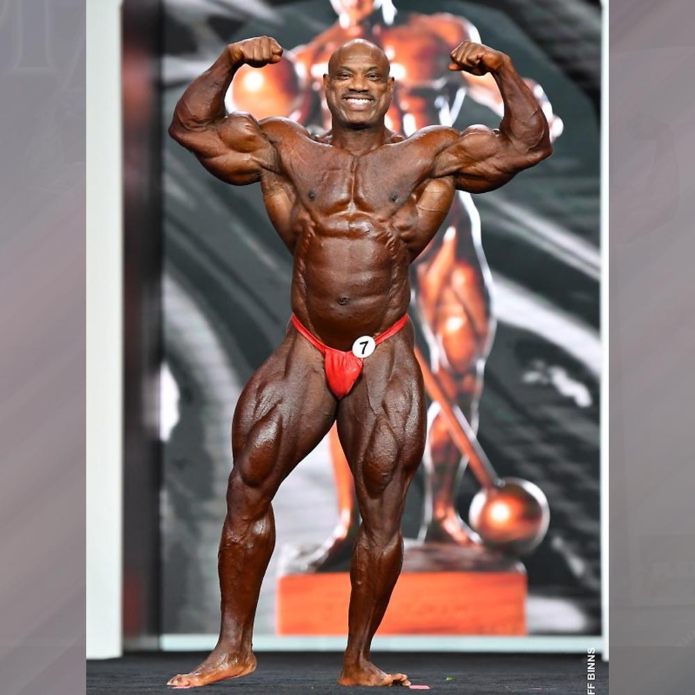 Декстер Джексон - 7 место на Мистер Олимпия - 2020