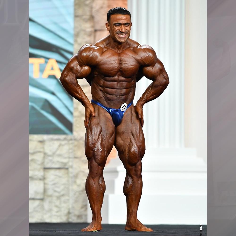 Камал Эльгаргни - 2 место на Мистер Олимпия до 212 фунтов - 2020