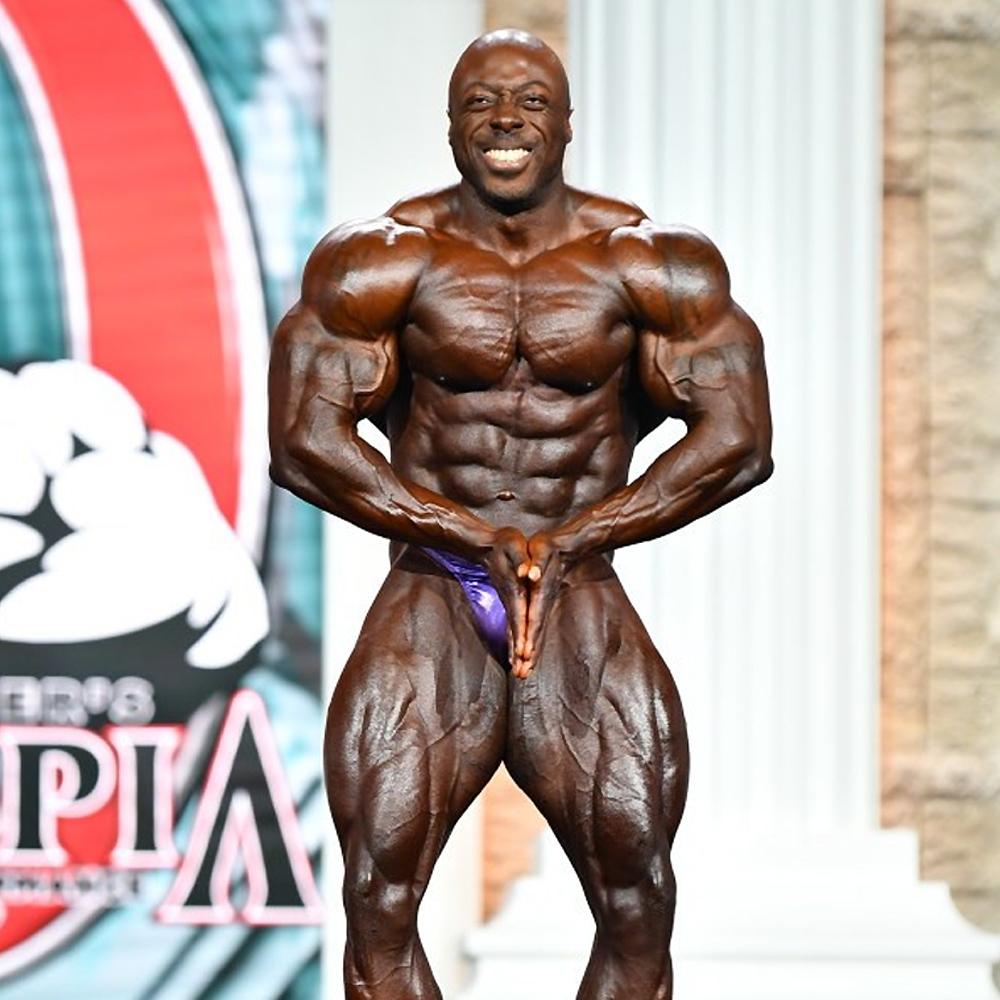 Джордж Питерсон - 3 место на Мистер Олимпия до 212 фунтов - 2020