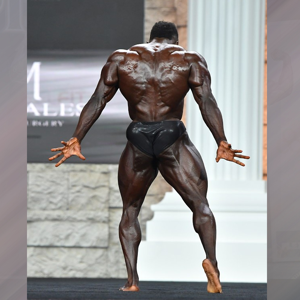 Терренс Руффин - 2 место на Классик Физик Олимпия - 2020