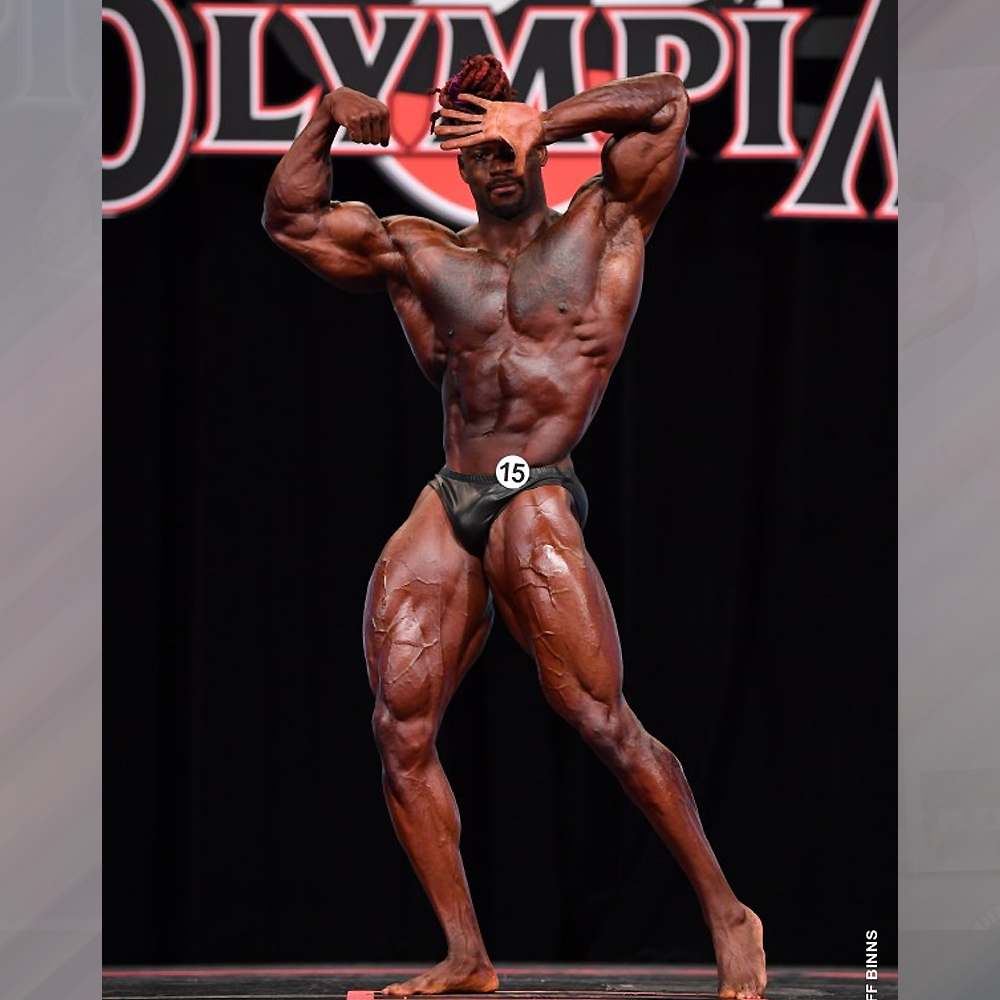 Брайан Джонс - 5 место на Классик Физик Олимпия - 2020