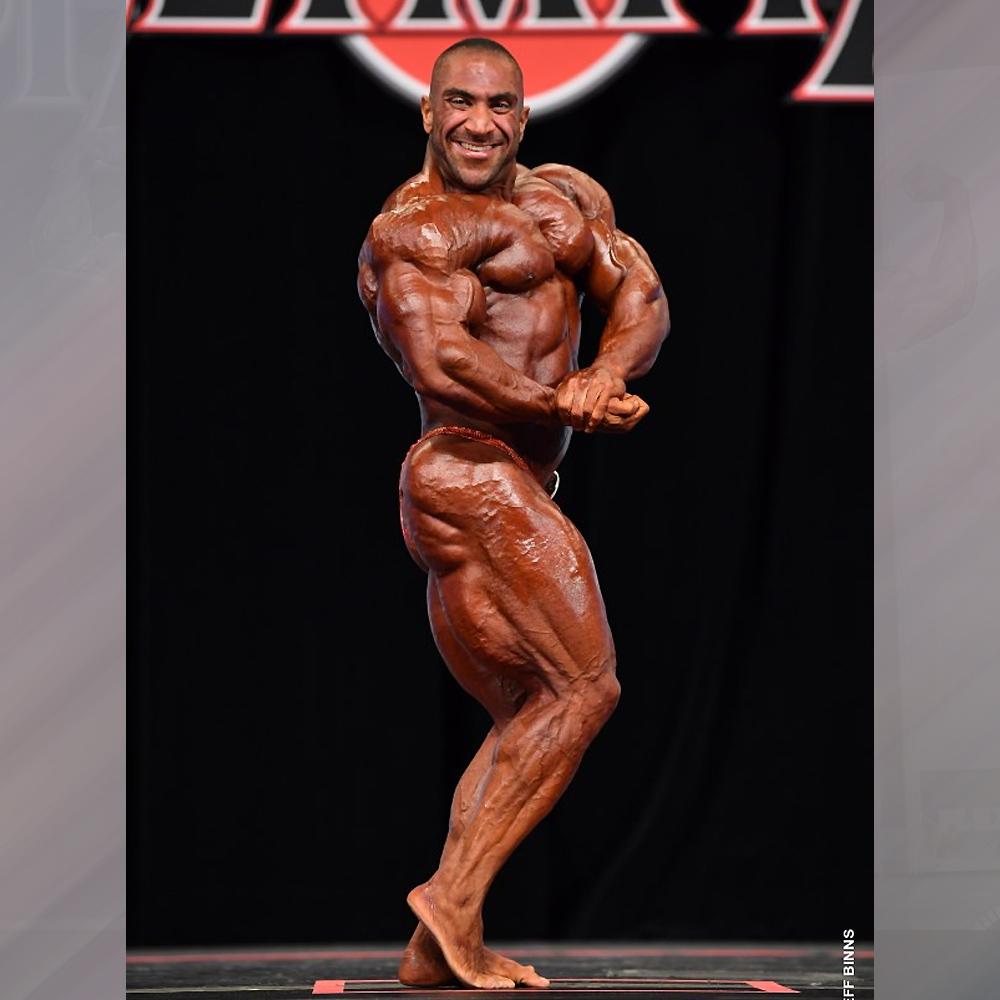 Ахмад Ашканани - 5 место на Мистер Олимпия до 212 фунтов - 2020