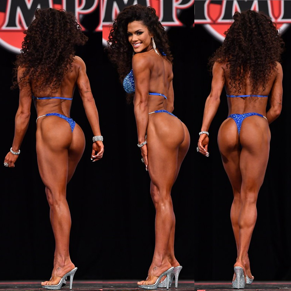 3 место - Этила Сантьяго Сантос на Мисс «Бикини Олимпия» - 2020